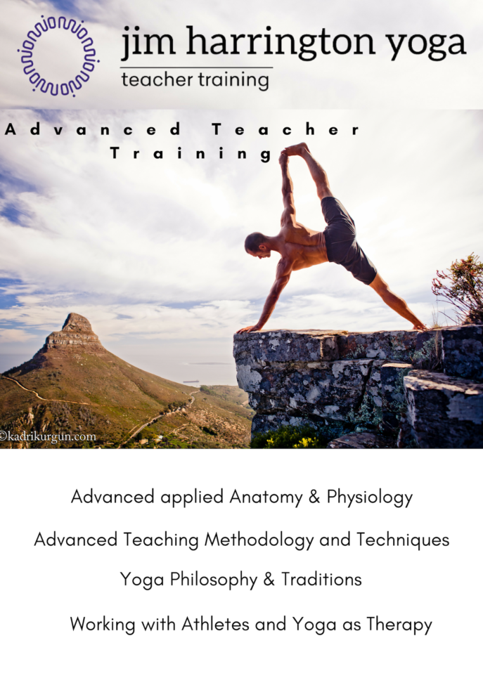 advanced Yoga teacher training - Jim harrington cape town
