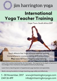 Jim Harrington Yoga Teacher Training