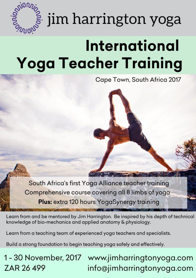 Jim Harrington Yoga Teacher Training