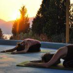 SilverIsland_yoga_sunset