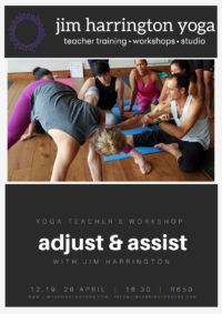 yoga adjustments workshop jim harrington website