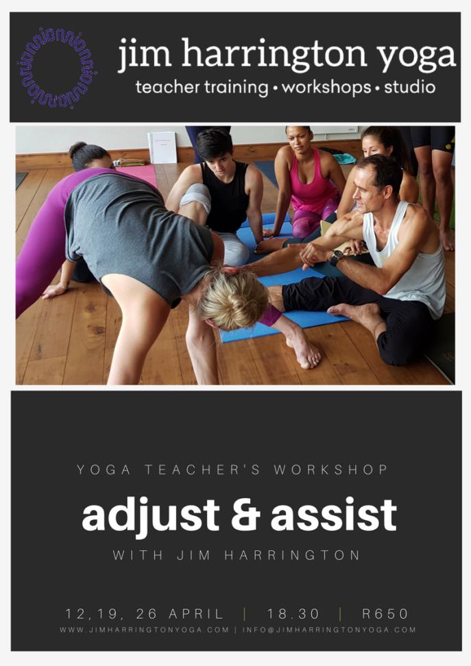 yoga adjustments workshop jim harrington website