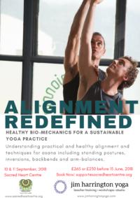 Yoga Workshop Jim Harrington Alignment Edinburgh
