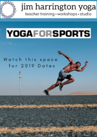 Yoga for sports training 2019 Jim Harrington